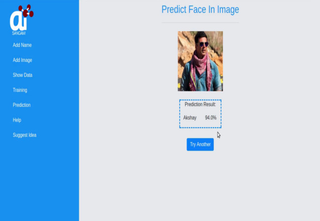 Face-recognition-API-aisangam
